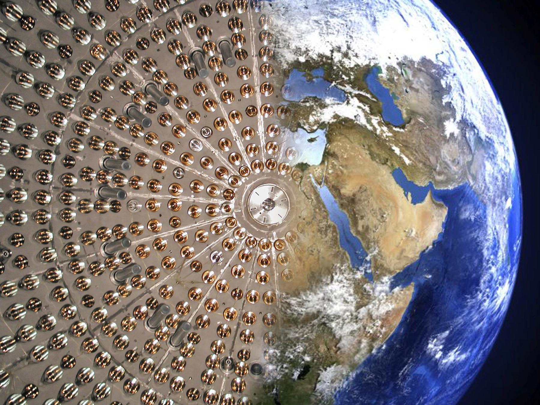 Нейтринные сигналы из земных недр: эксперимент Борексино представил но...