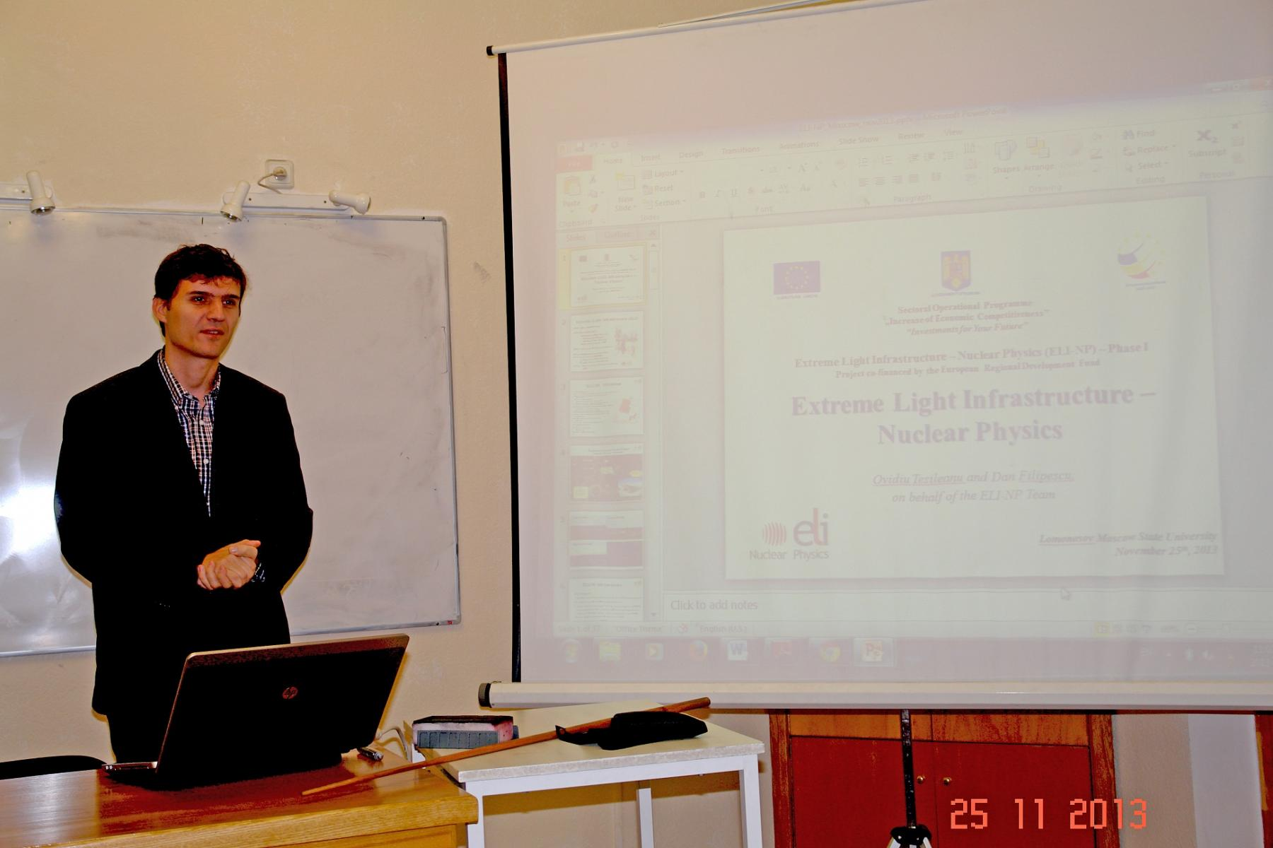A workshop of the SINP DEPNI scientists and their colleagues from the ...