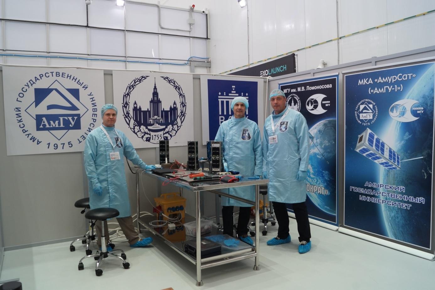 """На космодроме """"Восточный"""" идёт подготовка к запуску трёх малых космиче..."""